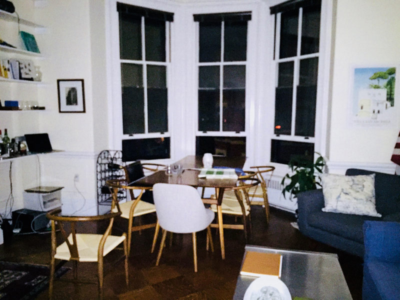An Image of Albert's apartment, where it all started.